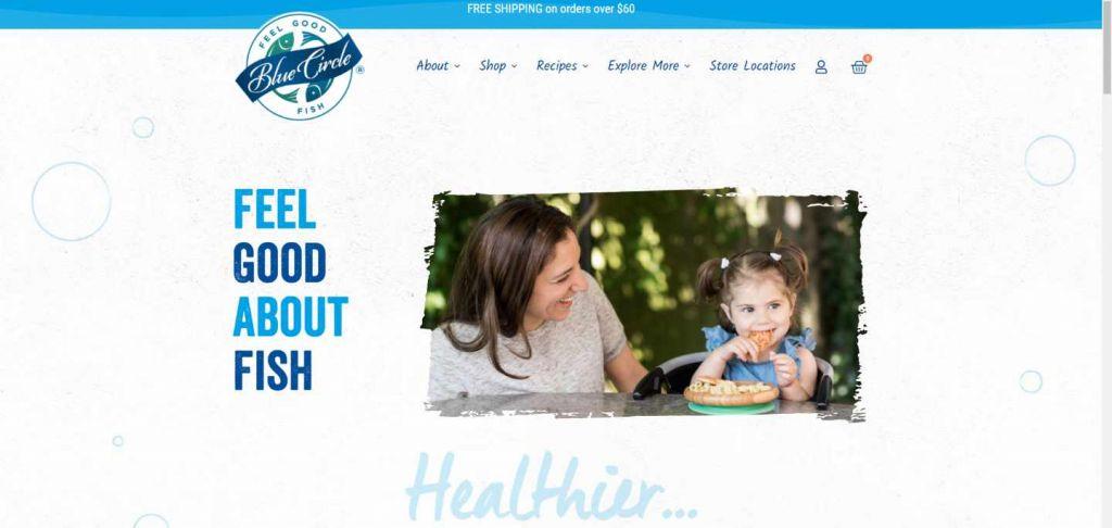 Le site de Blue Circle Foods