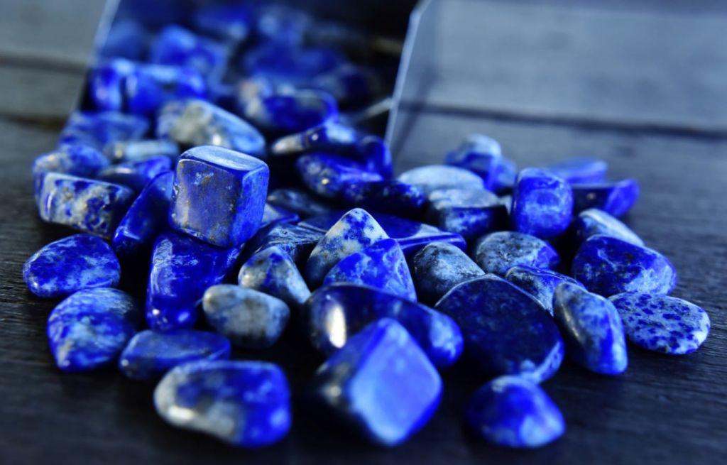 Du lapis-lazuli
