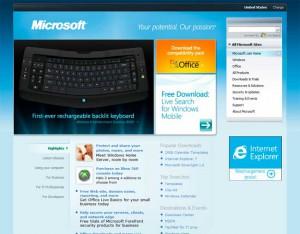 Microsoft en 2007