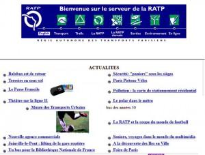 RATP, 1997