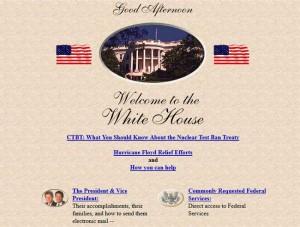 Maison Blanche, 1997